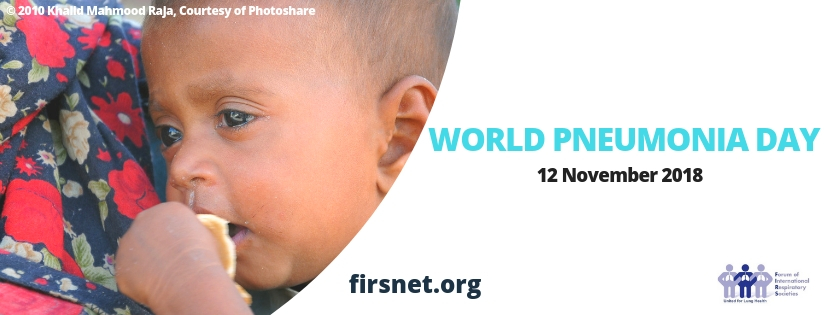 World Pneumonia Day 2018 Social Header