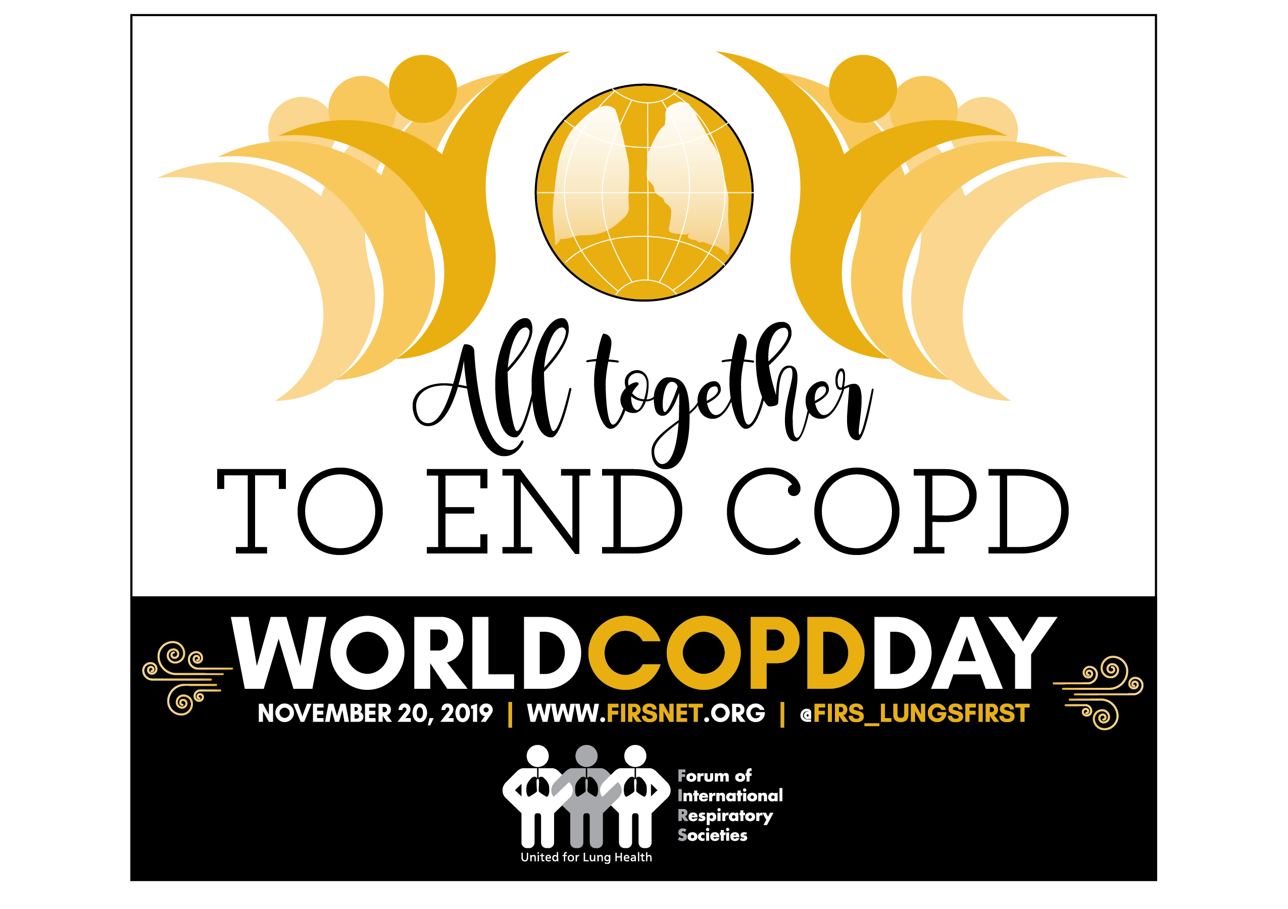 World COPD Day: All together to end COPD