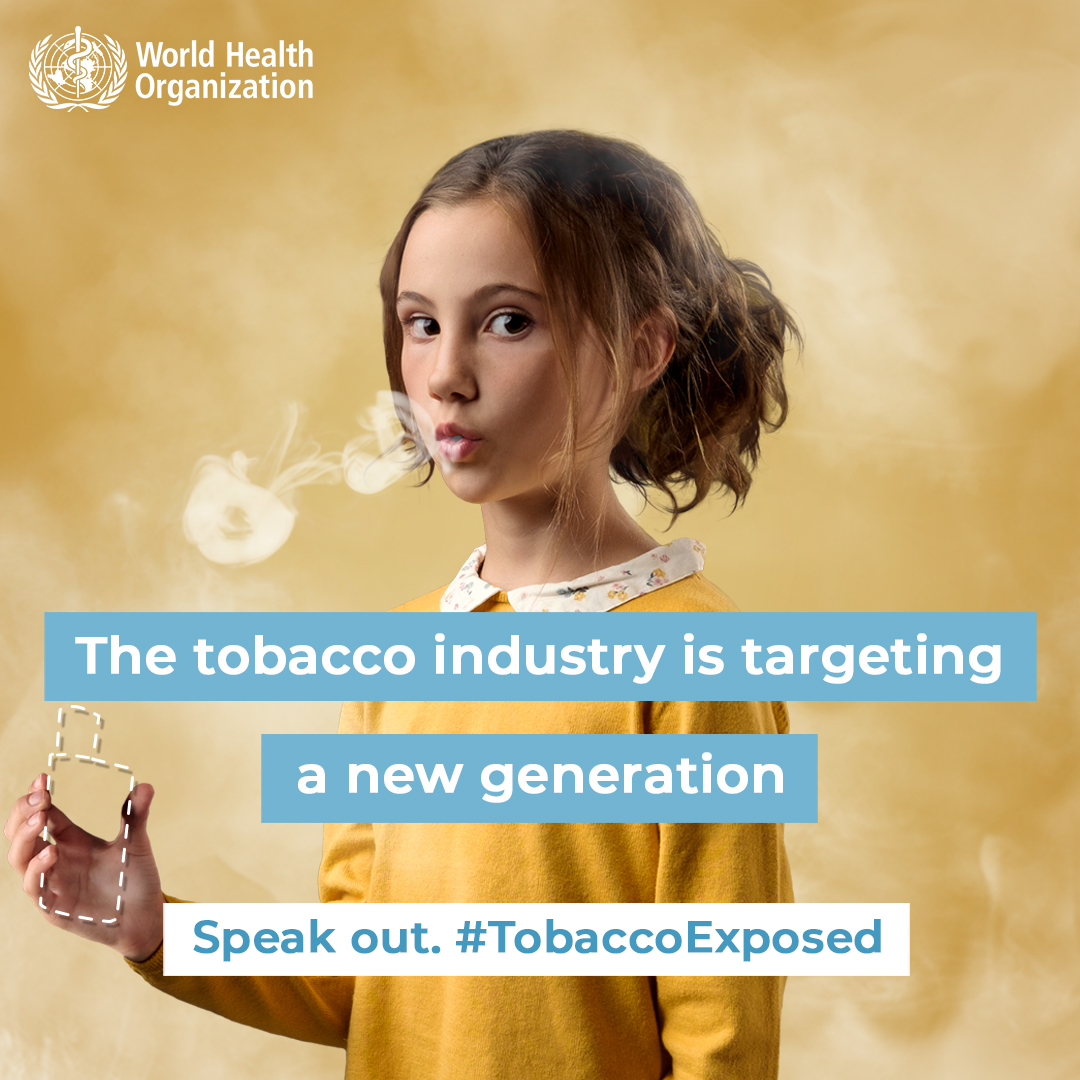 World No Tobacco Day: 31 May